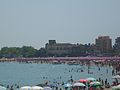 Schisò Castle from beach.JPG