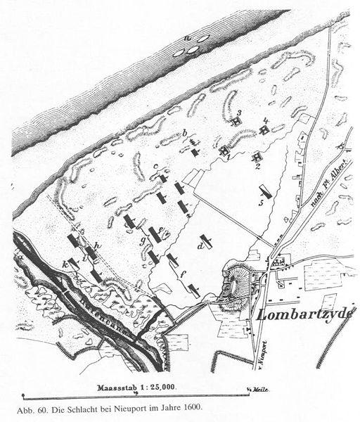 Schlacht bei Nieuport 1600