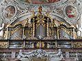 Schlierbach Stiftskirche Schlierbach Innen Orgel 2.JPG