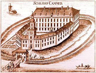 Georg Matthäus Vischer - Image: Schloss Kammer