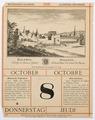 Schloss Hallwyl på historisk kalender från 1896 - Hallwylska museet - 102209.tif