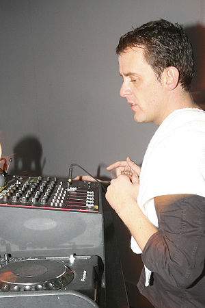 Scott Mills - Scott Mills performing a DJ set