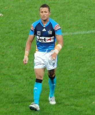 Scott Prince - Prince playing for the Gold Coast Titans in 2010