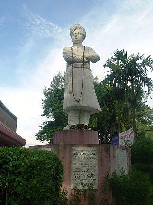 Sculpture of Swami Vivekananda, Jagannath Hall...
