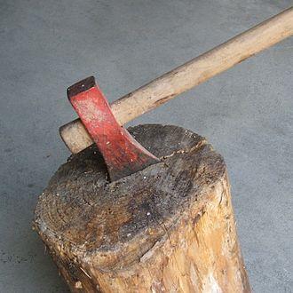 Firewood - Firewood axe or maul