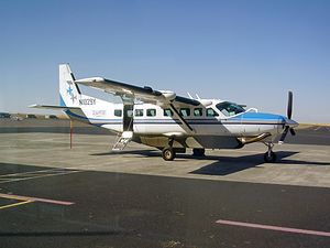 SeaPort Airlines - Cessna 208 N1029Y of SeaPort Airlines at Eastern Oregon Regional Airport in October 2015