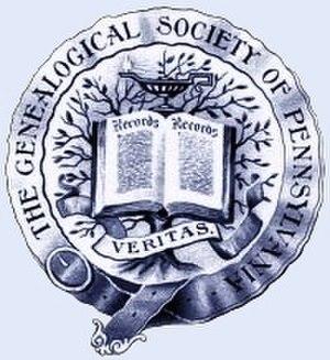 Genealogical Society of Pennsylvania - Image: Seal 15p 4