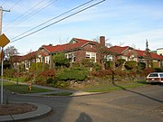 Seattle - garden apartments at 18th and Spruce