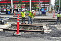 Seattle - laying trolley tracks on Broadway at Pine 15.jpg