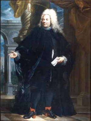 Sebastiano Bombelli - Portrait of Gerolamo Querini, Procurator of St Mark's (1669)