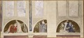 Second Proposed Decoration of Lunettes in the Upper Hall of the NM (Carl Larsson) - Nationalmuseum - 21055.tif
