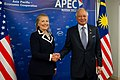 Secretary Clinton with Malaysia's Prime Minister Najib Razak (7960926646).jpg