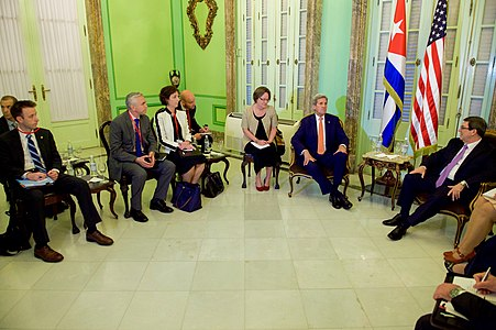 Secretary Kerry Meets With Cuban Foreign Minister Rodriguez in Havana (25333668243).jpg