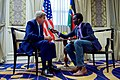 Secretary Kerry Speaks About Issues Relating to South Sudan During an Interview With Daniel Danis of Eye Radio in Nairobi (29051697352).jpg