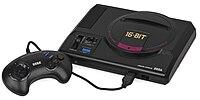 Оригинальная японская приставка Mega Drive