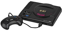 A picture of a Japanese Mega Drive