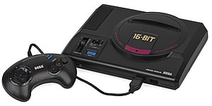 Sega Genesis - The original Japanese Mega Drive