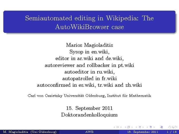 File:Semiautomated editing in Wikipedia, The AutoWikiBrowser case.pdf