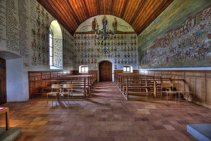 Sempacher Schlachtkapelle Interior.jpg