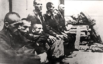 History of the Serbs - Serbian civilians interned in Jasenovac concentration camp, 1942