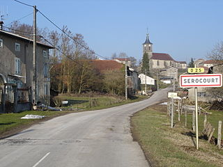 Serocourt Commune in Grand Est, France