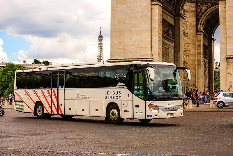 De Orly a Paris