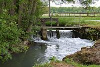 Seuil sur le Ruisseau du Boutois à Soumaintrain.JPG