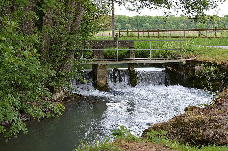 Seuil sur le Ruisseau du Boutois à Soumaintrain