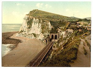 Shakespeare's Cliff, Dover, England-LCCN2002696724