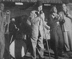 Sharkey Bonano - Image: Sharkey Bandstand 1950Kubrick