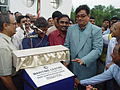 Shatrughan Sinha Inaugurates Maritime Centre - Science City - Kolkata 2003-10-17 00460.JPG