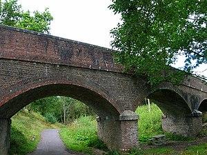 Cuckoo Line - Shawpits Bridge, near Hellingly