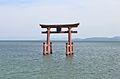 Shirahige-jinja (Takashima) otorii.JPG