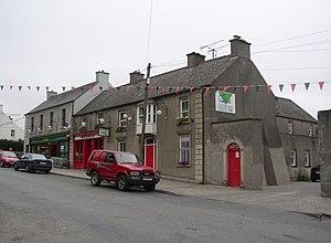 Borris, County Carlow - O'Sheas Shop and Bar on Main Street