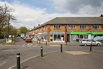 Bransgore - Image: Shops on Ringwood Road, Bransgore geograph.org.uk 1854327