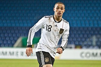 Sidney Sam - Sam playing for Germany U21 in 2010