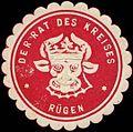 Siegelmarke Der Rat des Kreises Rügen W0311403.jpg