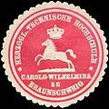 Siegelmarke Herzoglich Technische Hochschule Carola - Wilhelmina zu Braunschweig W0216608.jpg