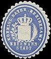 Siegelmarke K. Bayer. Bezirksamt Ebermannstadt W0385389.jpg