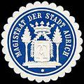 Siegelmarke Magistrat der Stadt Aurich W0235436.jpg
