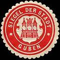Siegelmarke Siegel der Stadt Guben W0240538.jpg