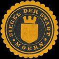 Siegelmarke Siegel der Stadt Moers W0358522.jpg
