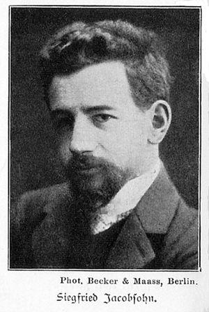 Siegfried Jacobsohn - Siegfried Jacobsohn