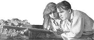 Seena Owen - Seena Owen with Douglas Fairbanks in The Lamb (1915)