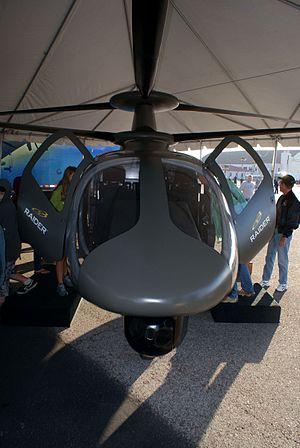 Armed Aerial Scout - Sikorsky S-97 Raider mockup