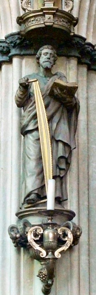 Simon the Zealot - Saint Simon the Zealot with his attribute of a saw