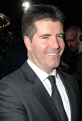 Cowell la National Television Awards de la Royal Albert Hall, Londra, octombrie 2006.