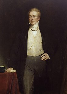 Sir Robert Peel (portrait par Henry William Pickersgill)
