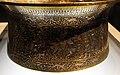 Siria, bacile detto battistero di s.luigi, 1320-40 ca, firmato muhammad ibn al-zayn, con restauri del 1821, ottone incr. d'oro, arge e pasta nera 08.JPG