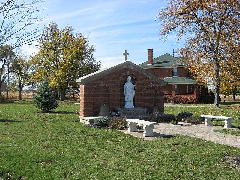 File:Site of St. Patrick Catholic Church in St. Patrick, Ohio.jpg